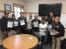 Congratulations to our new Algebra Academy students!